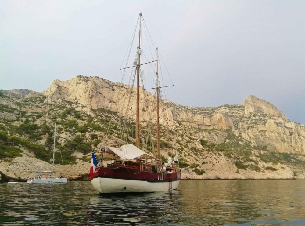 Noleggio yacht Marsiglia - Chantier-Brauer-Hambourg GOELETTE su SamBoat