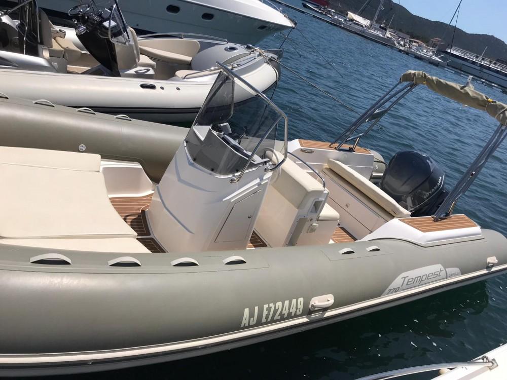 Noleggio barche Porto-Vecchio economico Tempest 770