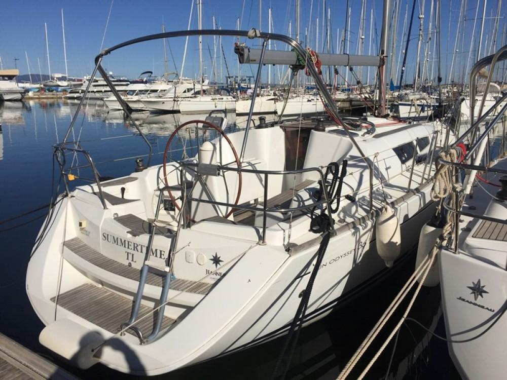 Noleggio barche Jeanneau Sun Odyssey 36i Hyères su Samboat