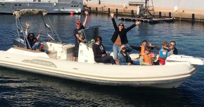 Noleggio yacht a L'Île-Rousse – Capelli Tempest 700 Sun su SamBoat