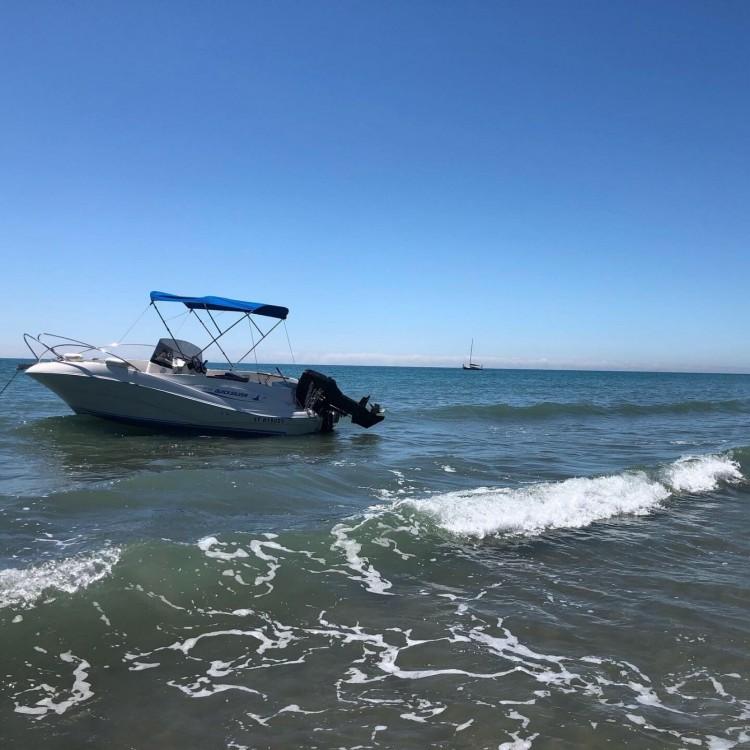 Noleggio Barca a motore con o senza skipper Quicksilver