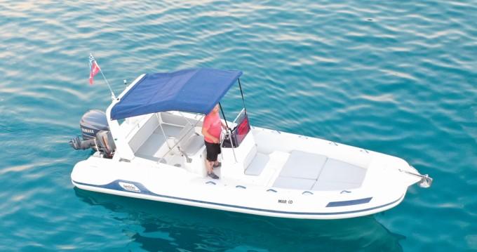 Noleggio Gommone Mar.Co con patente nautica