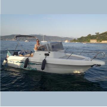 Noleggio Barca a motore a La Spezia – Capelli Cap 23 WA