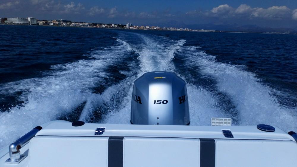noleggio Gommone Can Picafort - Ab-Marine oceanus 19 VST