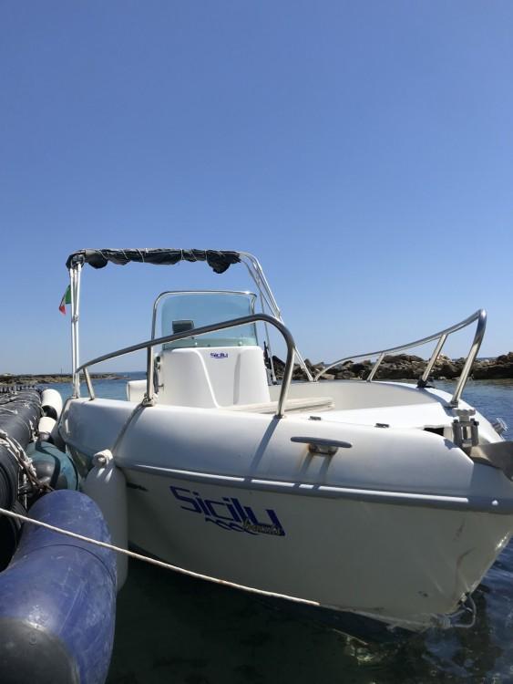 Noleggio barche Avola economico Aquamar 17