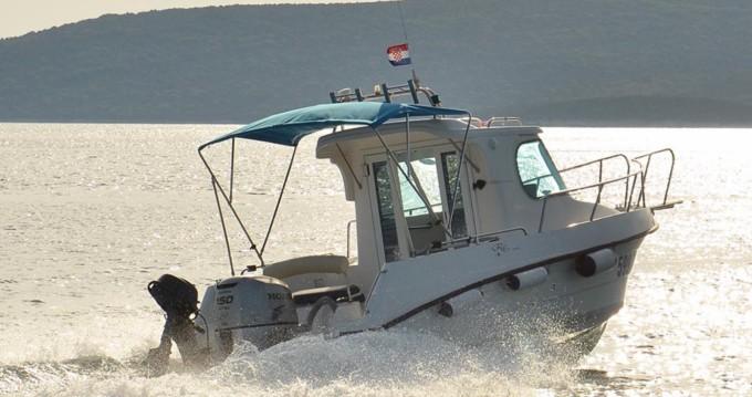 Barca a motore a noleggio Ugljan al miglior prezzo