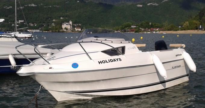Noleggio Barca a motore con o senza skipper Quicksilver Duingt