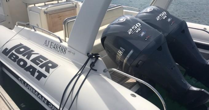 Noleggio Gommone a Porto-Vecchio – Joker Boat Clubman 28