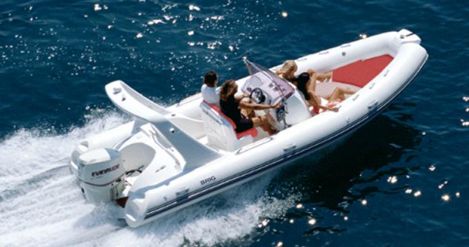 Noleggio Gommone con o senza skipper Brig Malinsca
