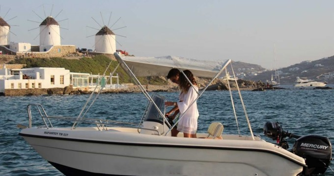 Noleggiare una Poseidon Blu Water a Mykonos (Isola)