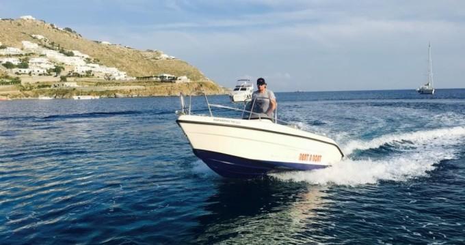 Noleggio barche Mykonos (Isola) economico Blu Water