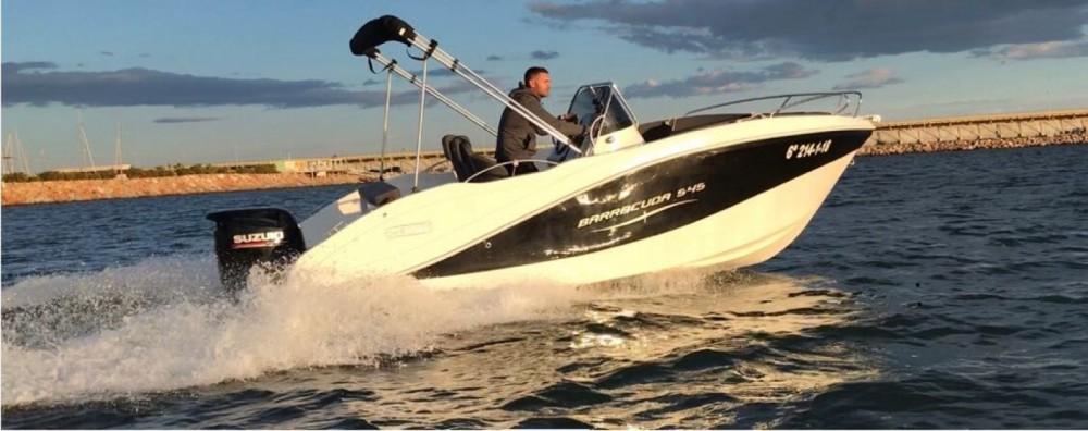 Barca a motore a noleggio Torrevieja al miglior prezzo