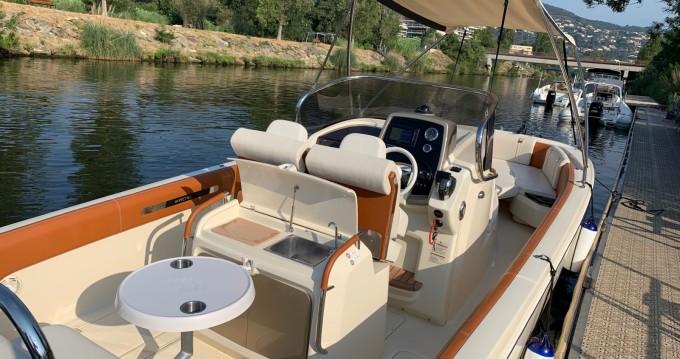 Noleggio barche Mandelieu-la-Napoule economico FX 270