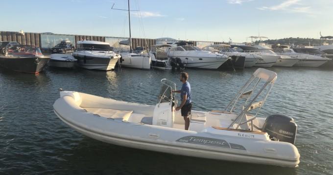 Noleggio barche Capelli Tempest 626 a Sainte-Maxime su Samboat