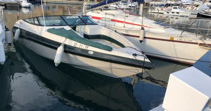 Noleggio Barca a motore con o senza skipper Crownline a Altea