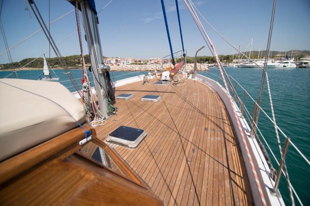 Noleggio Barca a vela Gulet con una patente