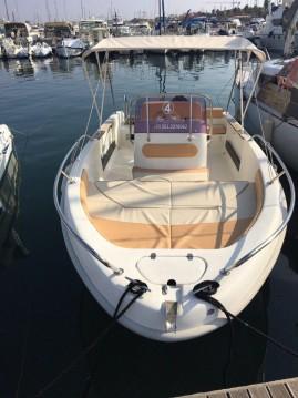 Noleggio Barca a motore a Alghero – Saver 550 Open