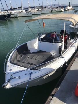 Noleggiare una Oki Boats Barracuda 545 a La Azohía