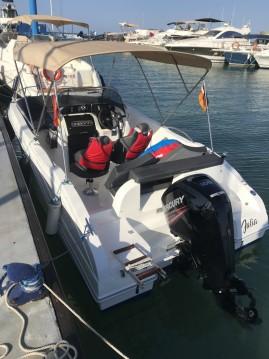 Noleggio barche Oki Boats Barracuda 545 a La Azohía su Samboat