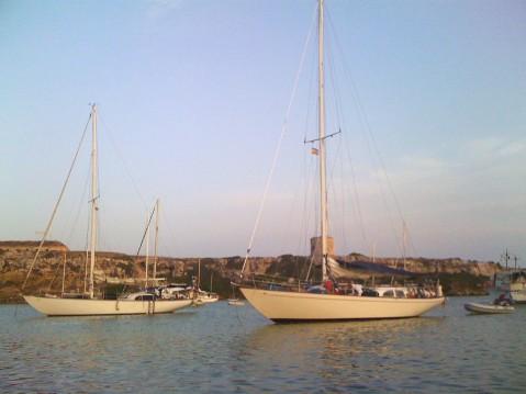 Noleggio Barca a vela a Lavagna – Columbia 50