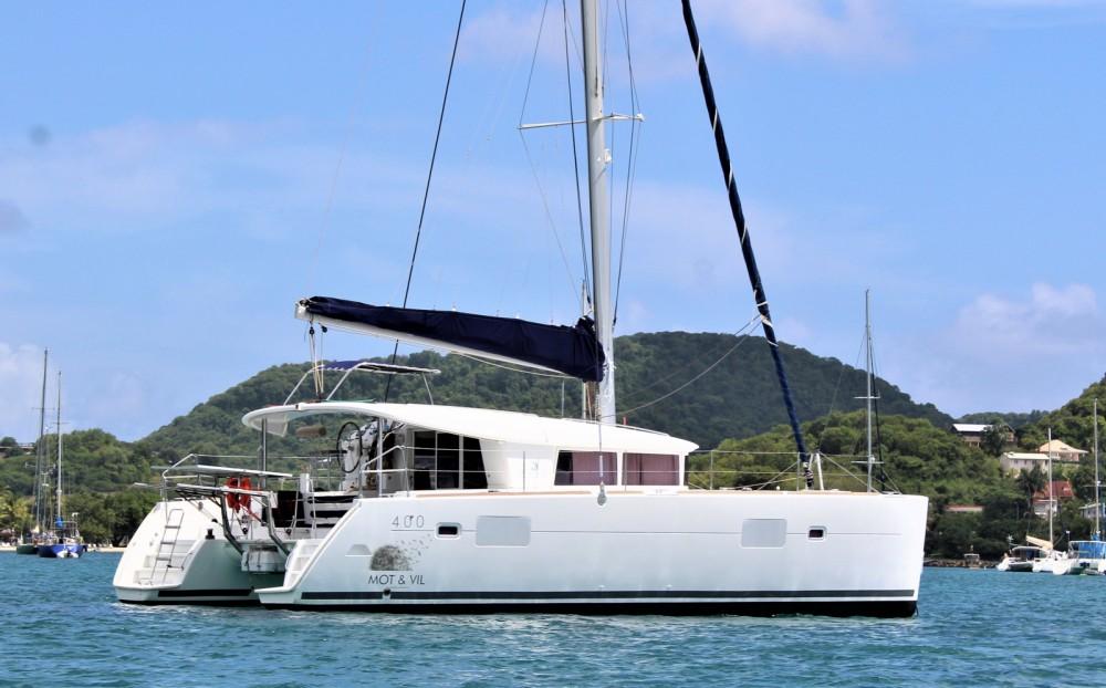 Noleggio barche Lagoon Lagoon 400 Martinica su Samboat