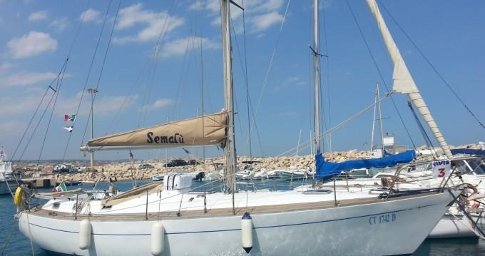 """Noleggio Barca a vela a Marzamemi – C&C 37"""""""