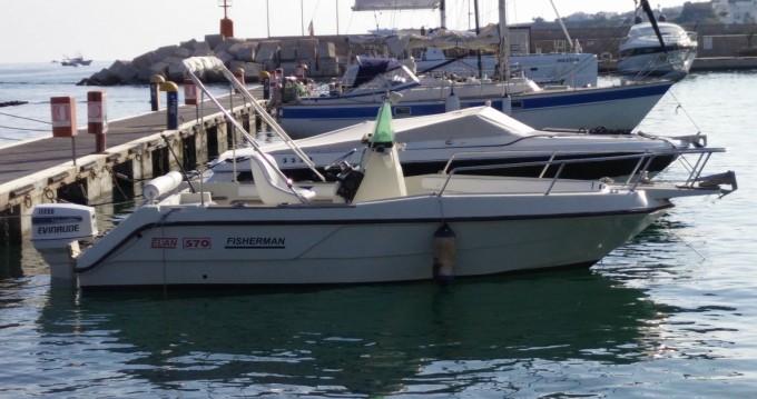 Noleggio Barca a motore a Santa Maria di Leuca – Elan Elan Fisherman