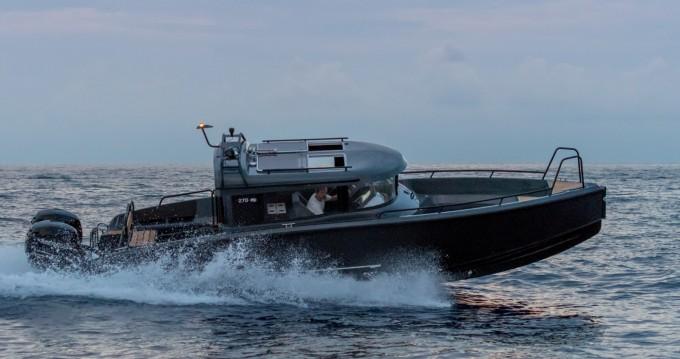 Noleggio Barca a motore Xo Boats con patente nautica