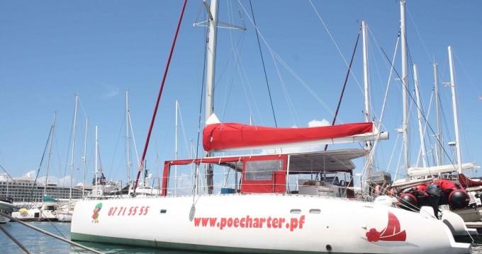 Catamarano a noleggio a Tahiti al miglior prezzo