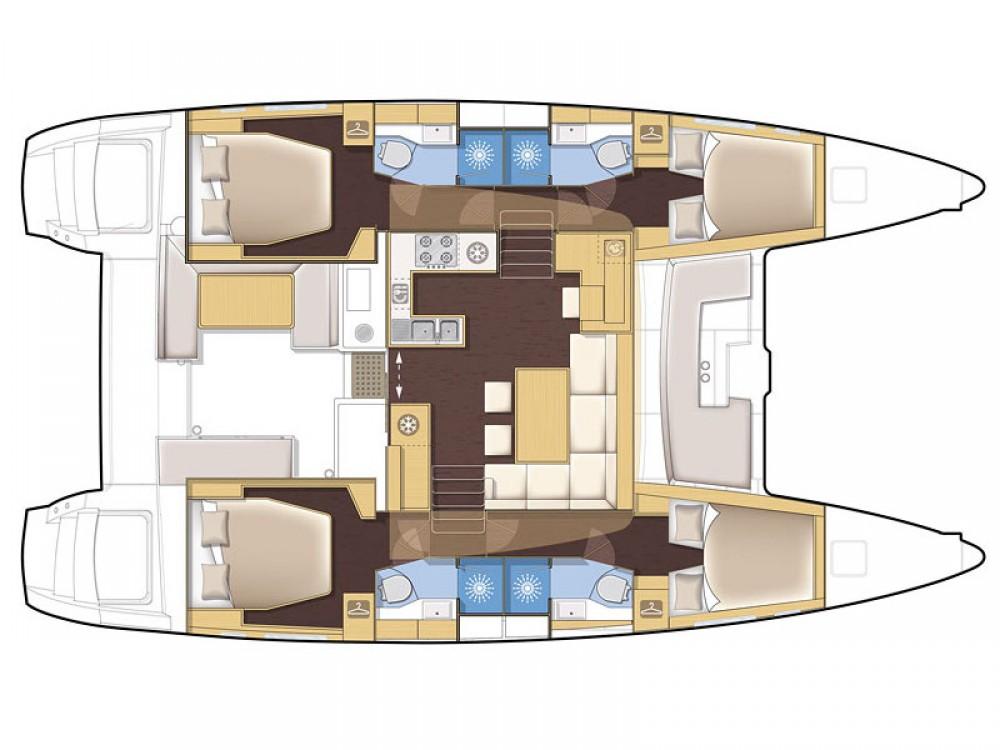 noleggio Catamarano  - Lagoon Lagoon 450 F
