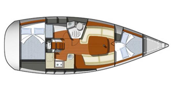 Noleggio Barca a vela con o senza skipper Jeanneau a Rogoznica