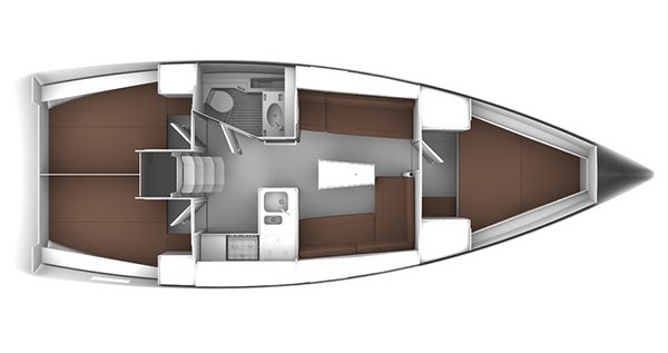 Noleggio Barca a vela a Rogoznica – Bavaria Cruiser 37