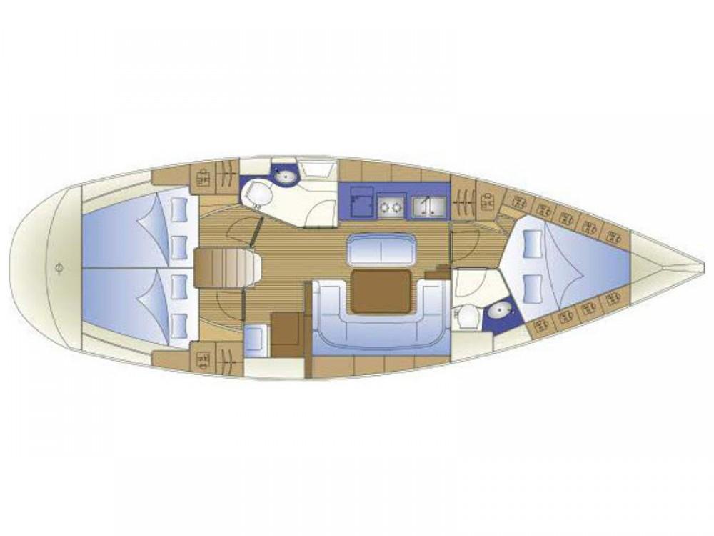 noleggio Barca a vela  - Bavaria Bavaria 41