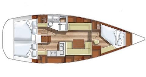 Noleggio Barca a vela a Pirita – Hanse Hanse 400