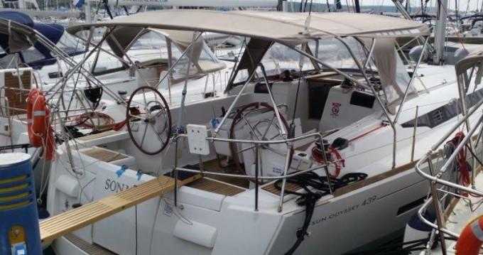 Noleggio barche Jeanneau Sun Odyssey 439 a Sukošan su Samboat