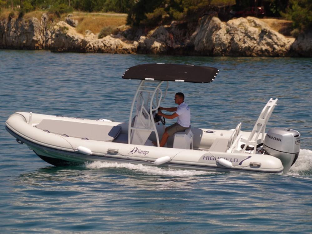 Noleggio yacht Sukošan -  Highfield Patrol 660 su SamBoat