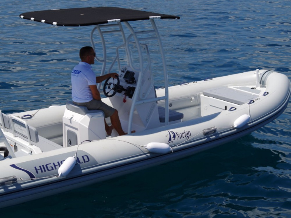 noleggio Barca a motore Sukošan -  Highfield Patrol 660