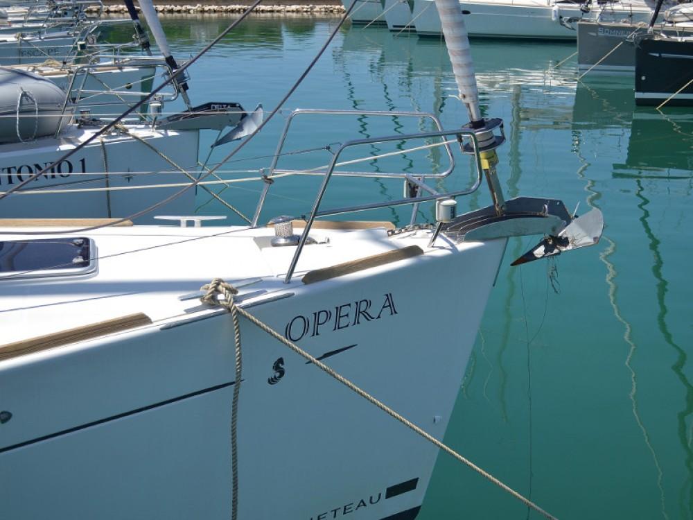 Noleggio Barca a vela Bénéteau con una patente