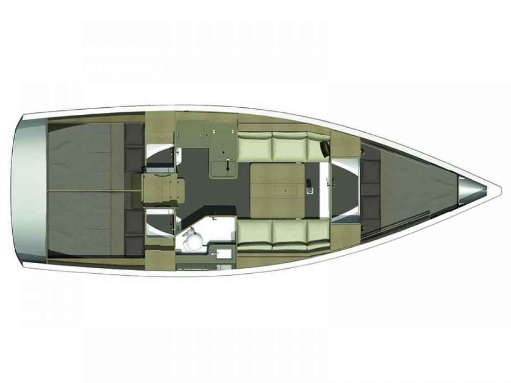 Noleggio barche Dufour Dufour 350 GL Sukošan su Samboat