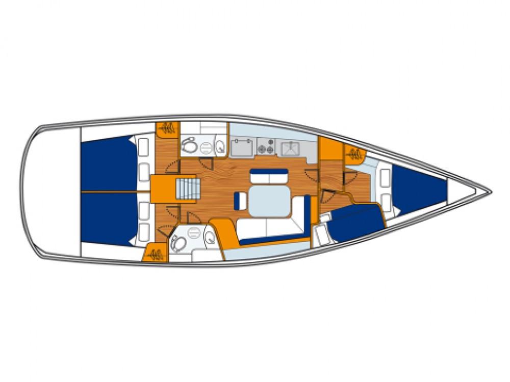 noleggio Barca a vela Sukošan - Bénéteau Oceanis 43