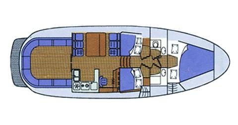 Noleggio Barca a motore con o senza skipper Sas Vektor a Sukošan