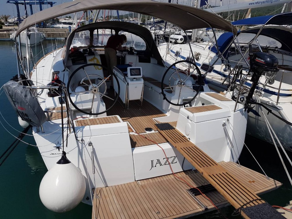 Noleggio yacht Sukošan - Jeanneau Sun Odyssey 419 su SamBoat