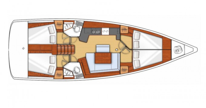 Noleggio yacht a Sukošan – Bénéteau Oceanis 45 V su SamBoat