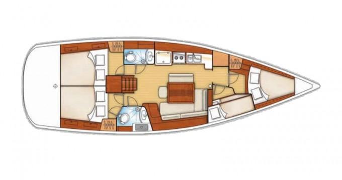Noleggio barche Bénéteau Oceanis 43 V a Sukošan su Samboat