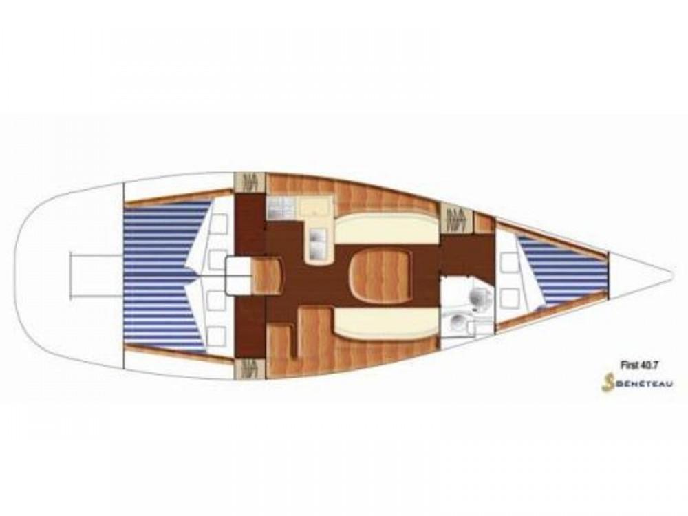 noleggio Barca a vela Primošten - Bénéteau First 40.7