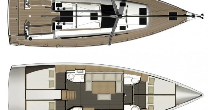 Noleggio Barca a vela con o senza skipper Dufour a Níkiti