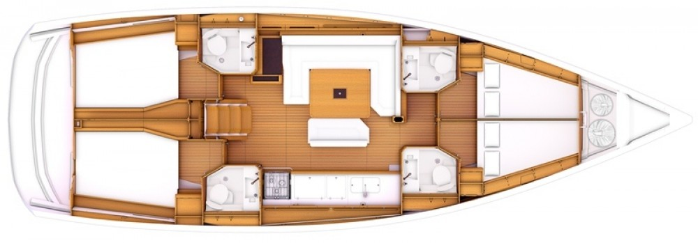 Jeanneau Sun Odyssey 479 tra personale e professionale Marmaris