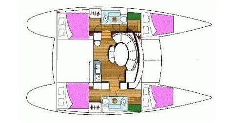 Noleggio Catamarano con o senza skipper Lagoon a Lefkada