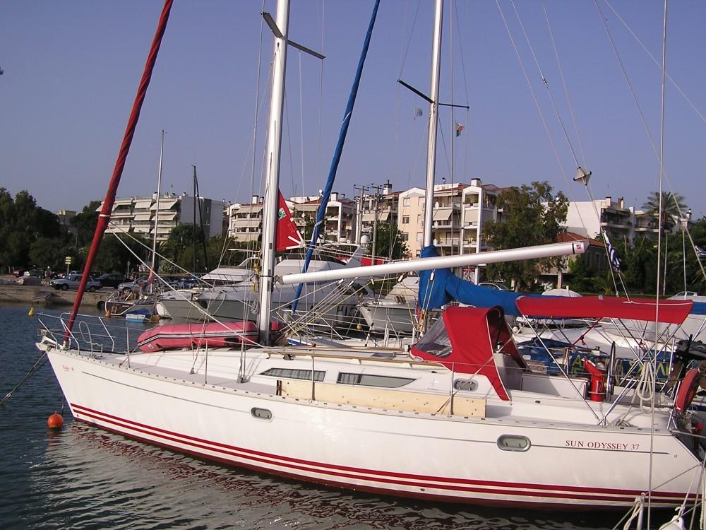 Noleggio yacht Leucade - Jeanneau Sun Odyssey 37.1 su SamBoat