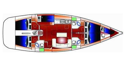 Noleggio Barca a vela a Betina – Bénéteau Cyclades 50.5